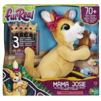 Интерактивная игрушка FurReal Mama Josie Кенгуру мама Джоси с сюрпризом
