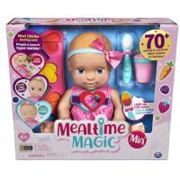 Интерактивная Кукла Пупс Реалистичная Миа Mealtime Magic Mia