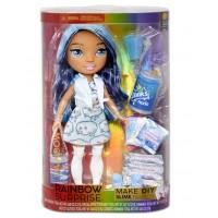 Poopsie  Rainbow High Surprise Slime - Blue Skye, Кукла Пупси Голубая Леди со слаймам