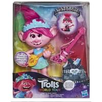 Кукла Тролли Розочка поющая DreamWorks Trolls World Tour Pop-to-Rock Poppy